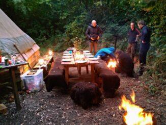 aftensmad i skoven